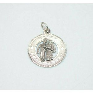 Sterling Silver .925 Couple Wedding Anniversary